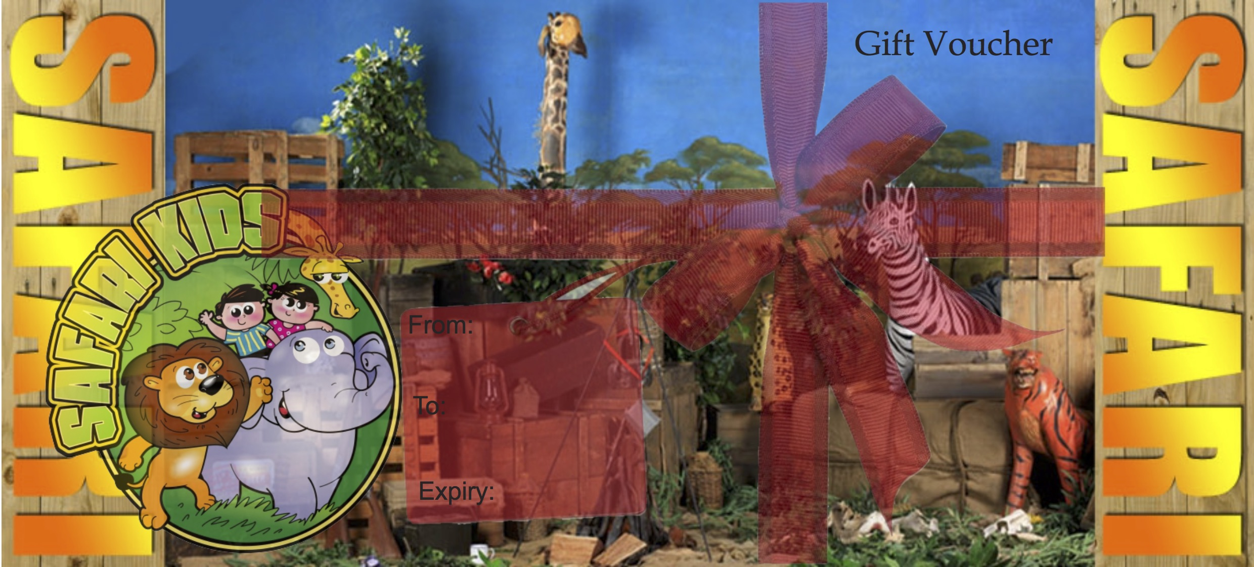 Safari Kids Gift Voucher copy